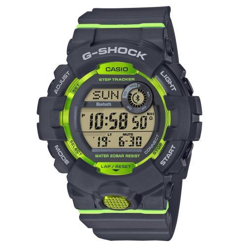 CASIO G-Shock Bluetooth Grey Rubber GBD-800-8ER