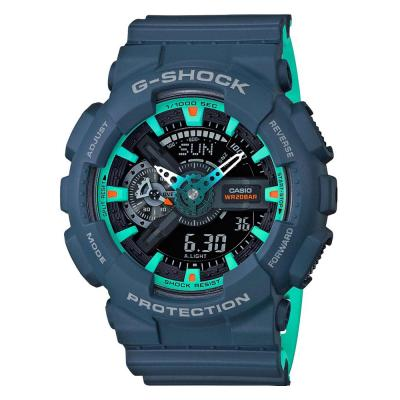 CASIO G-Shock Blue Rubber Strap GA-110CC-2AER