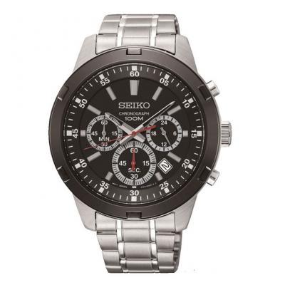 SEIKO Basic Chronograph Silver Stainless Steel Bracelet SKS611P1 9527a95c24e