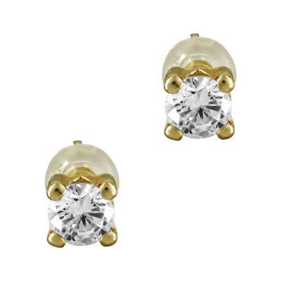 Σκουλαρίκια Με Πέτρες Από Κίτρινο Χρυσό Κ14 SK826