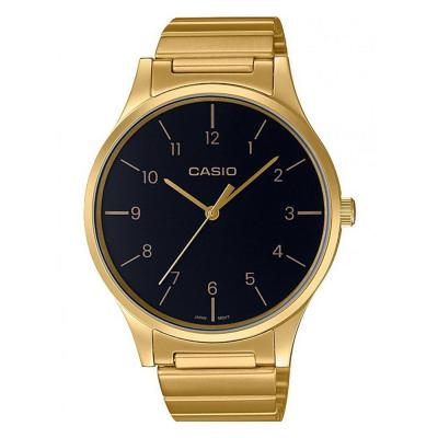 CASIO Collection Gold Stainless Steel Bracelet LTP-E140GG-1BEF