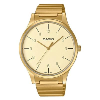 CASIO Collection Gold Stainless Steel Bracelet LTP-E140GG-9BEF