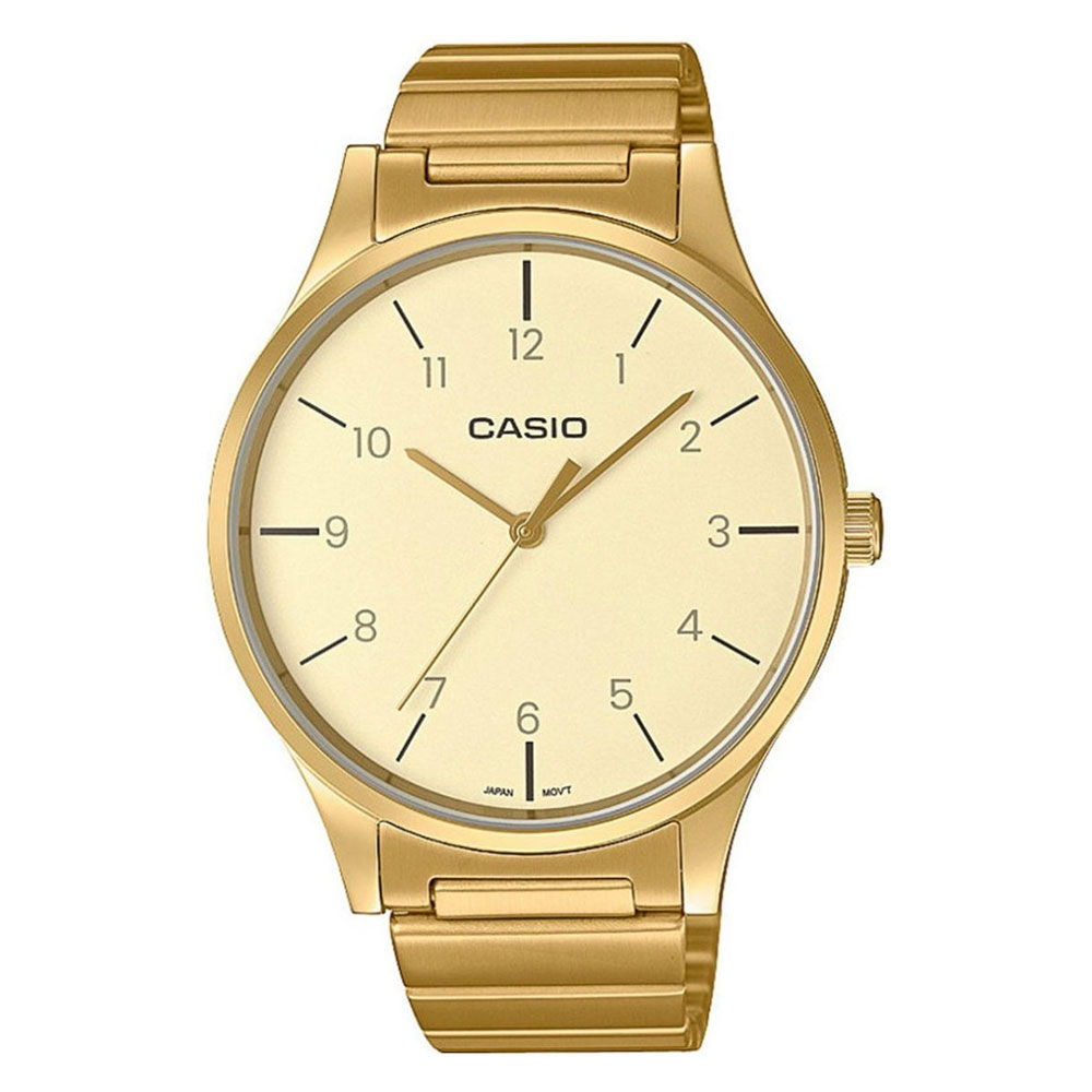 CASIO Collection Stainless Steel Bracelet LTP-E140GG-9BEF