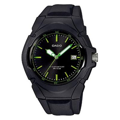 CASIO Collection Black Rubber Strap LX-610-1AVEF