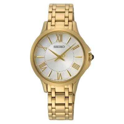 SEIKO Quartz Analog Gold Stainless Steel SRZ528P1