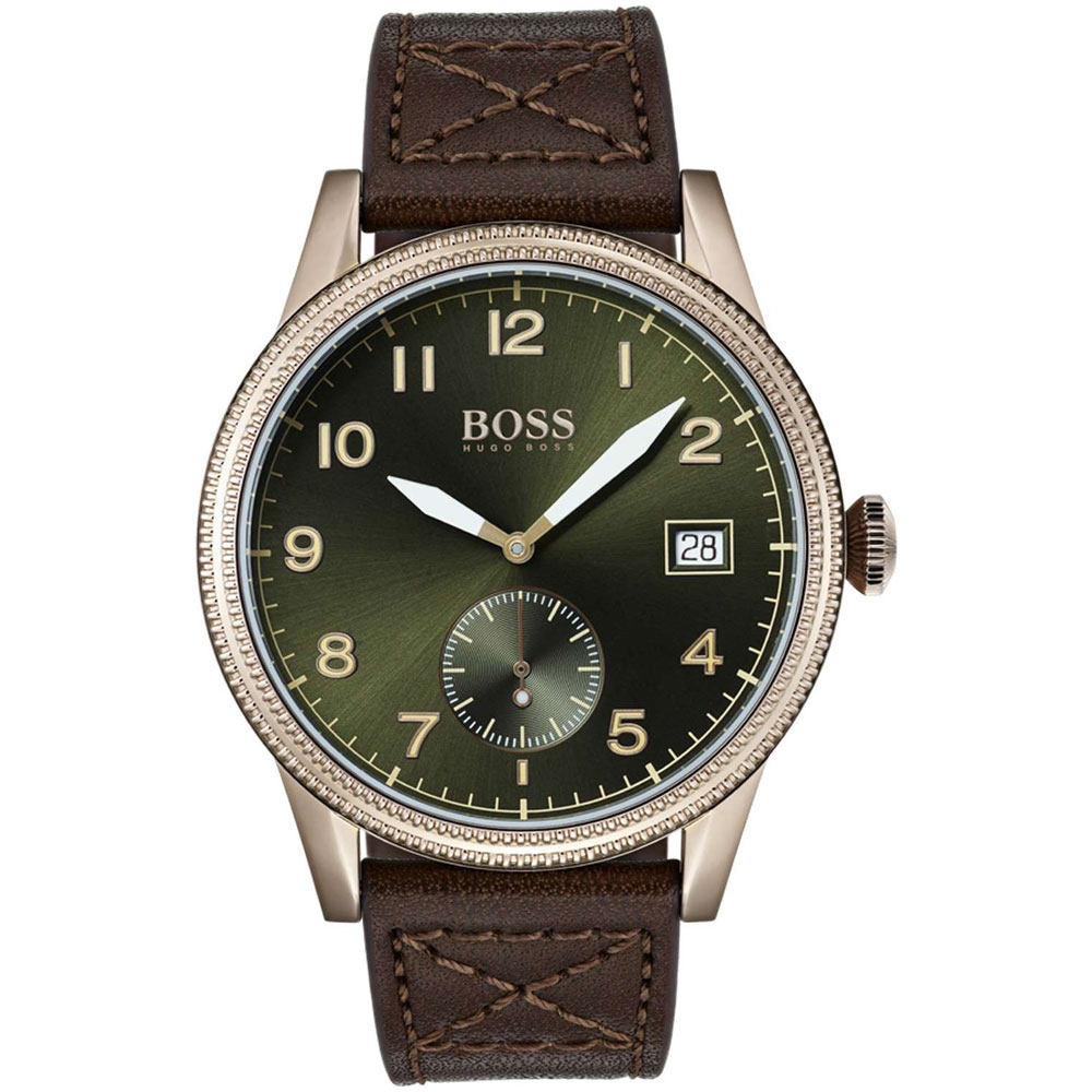HUGO BOSS Legacy Casual Brown Leather Strap 1513669