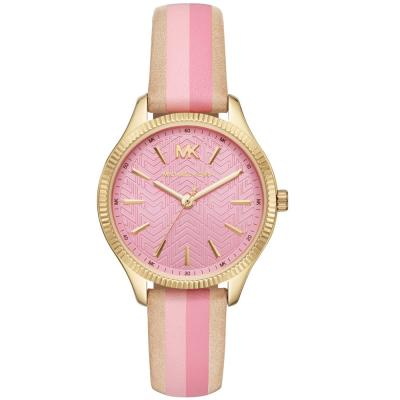 MICHAEL KORS Lexington Colourful Leather Strap MK2809