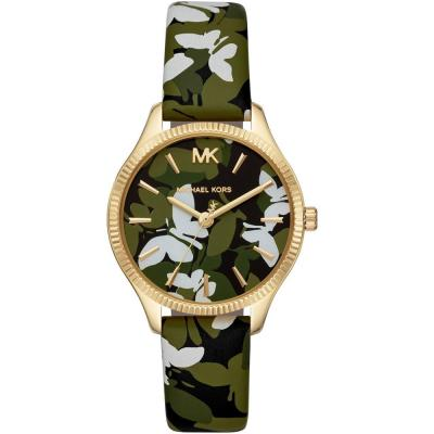 MICHAEL KORS Lexington Colourful Leather Strap MK2811