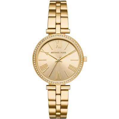 MICHAEL KORS Maci Crystals Gold Stainless Steel Bracelet MK3903