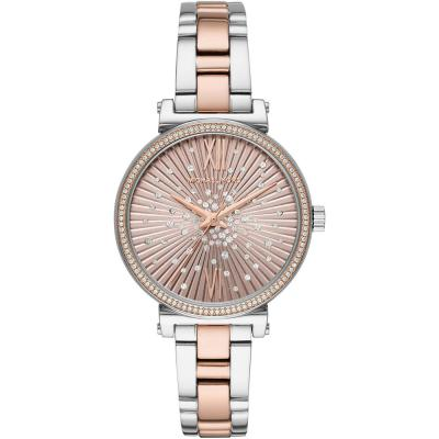 MICHAEL KORS Sofie Crystals Two Tone Stainless Steel Bracelet MK3972