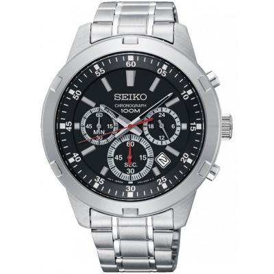 SEIKO Chronograph Stainless Steel Bracelet SKS605P1