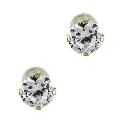 Σκουλαρίκια Mε Πέτρες Από Κίτρινο Χρυσό K9 SK828