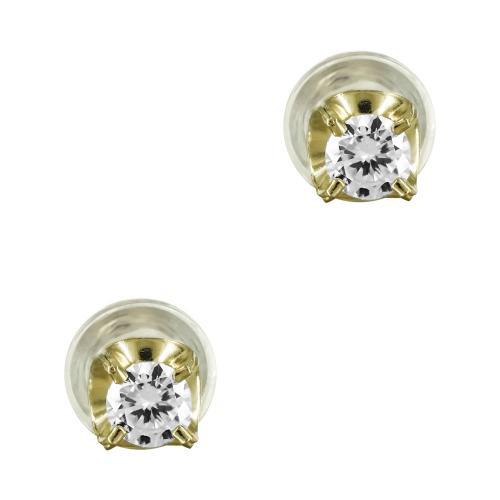 Σκουλαρίκια Με Πέτρες Από Κίτρινο Χρυσό Κ14 SK824