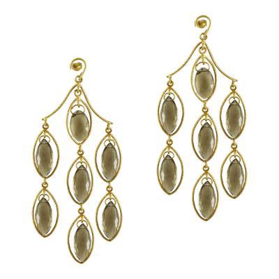 Σκουλαρίκια Με Πέτρες Από Κίτρινο Χρυσό K18 SK838