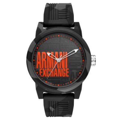 ARMANI EXCHANGE ATLC Military Rubber Strap AX1441