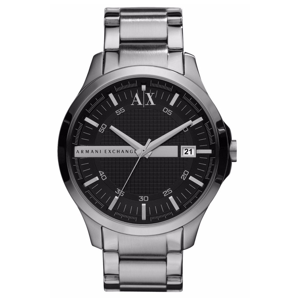 ARMANI EXCHANGE Hampton Silver Stainless Steel Bracelet AX2103