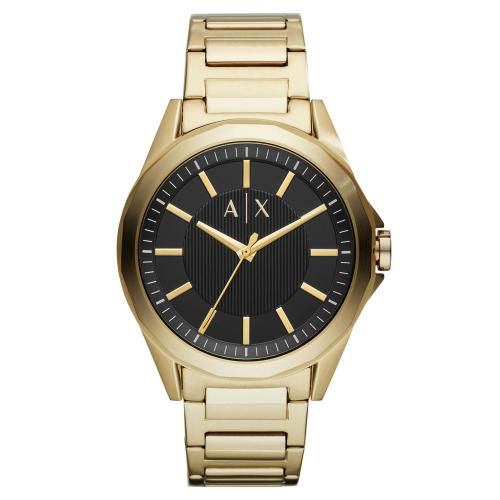 ARMANI EXCHANGE Drexler Gold Stainless Steel Bracelet AX2619