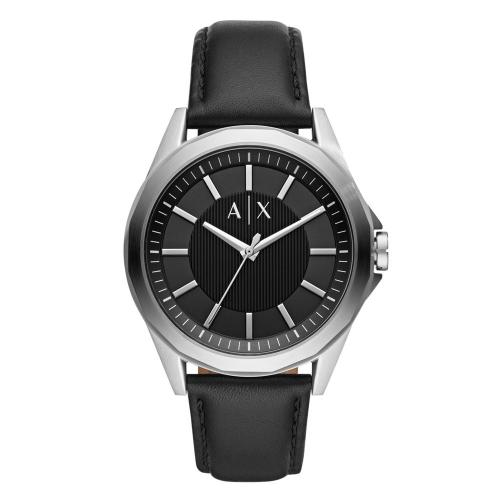 ARMANI EXCHANGE Drexler Black Leather Strap AX2621
