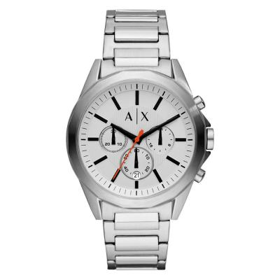 ARMANI EXCHANGE Silver Stainless Steel Bracelet ΑΧ2624
