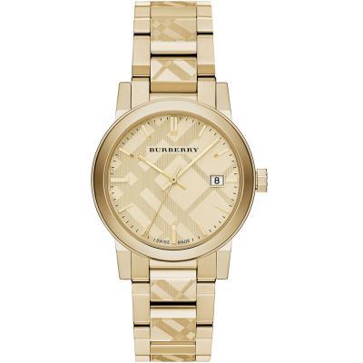 BURBERRY Gold Stainless Steel Bracelet BU9145