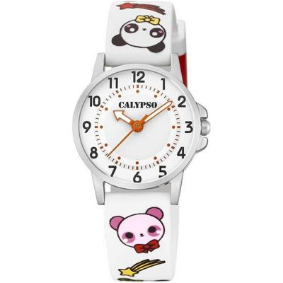 CALYPSO Kids White Rubber Strap K5775/1