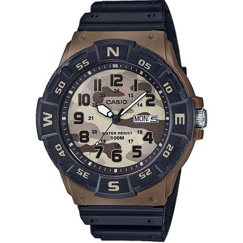 CASIO Collection Black Rubber Strap MRW-220HCM-5BVEF