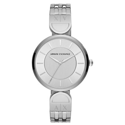 ARMANI EXCHANGE Brooke Silver Stainless Steel Bracelet AX5327