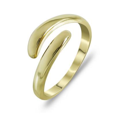 Δαχτυλίδι Μοντέρνο Από Κίτρινο Χρυσό K14 DX99776