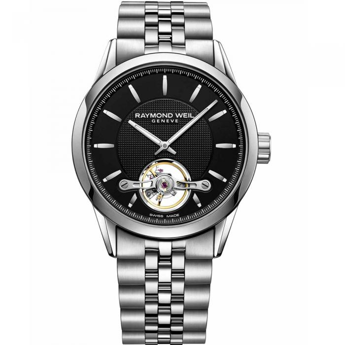 RAYMOND WEIL Freelancer Calibre Automatic Stainless Steel Bracelet 2780-ST-20001