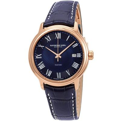 RAYMOND WEIL Maestro Automatic Blue Leather Strap 2237-PC5-00508