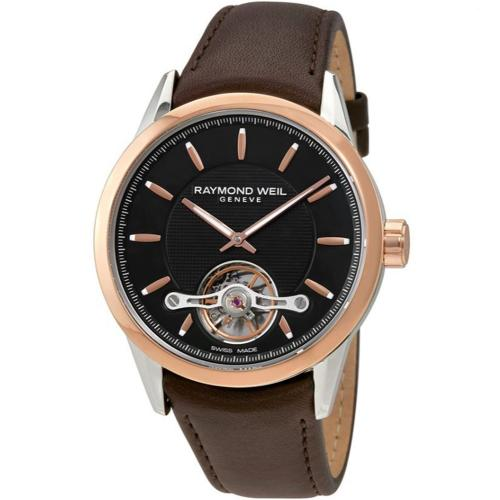 RAYMOND WEIL Freelancer Automatic Brown Leather Strap 2780-SC5-20001