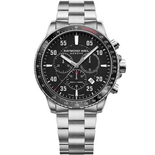 RAYMOND WEIL Tango Chronograph Stainless Steel Bracelet 8570-ST1-05207