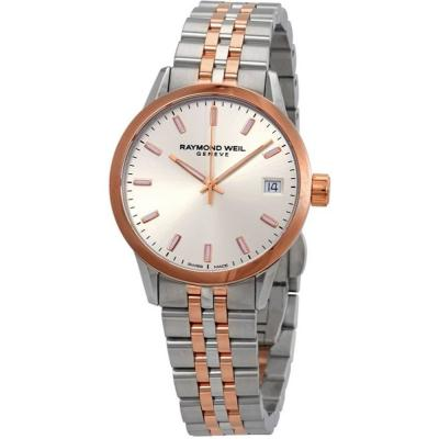 RAYMOND WEIL Freelancer Two Tone Stainless Steel Strap 5634-SP5-65021