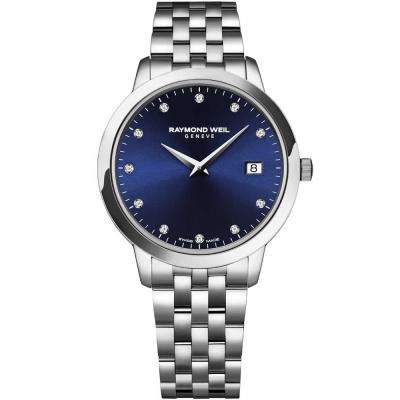 RAYMOND WEIL Toccata Diamonds Silver Stainless Steel Bracelet 5988-ST-50081