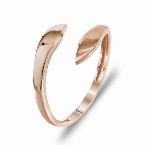 Δαχτυλίδι Mίνιμαλ Από Ροζ Χρυσό K14 DX99779