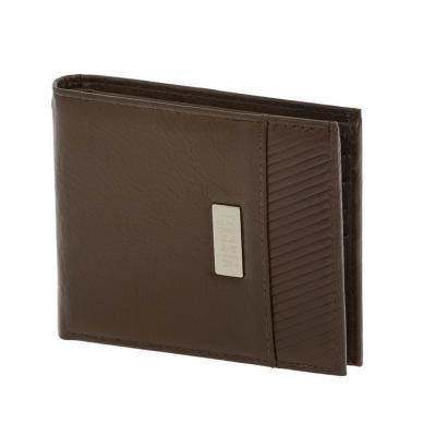 Visetti Αντρικό Πορτοφόλι Από Καφέ Δέρμα LO-WA010C