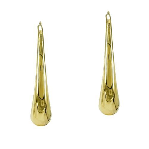 Σκουλαρίκια Από Κίτρινο Χρυσό K14 SK867