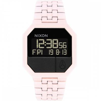 NIXON Re Run Pink Stainless Steel Bracelet A158-3164
