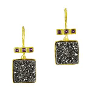 Μαυρα εντυπωσιακα σκουλαρίκια