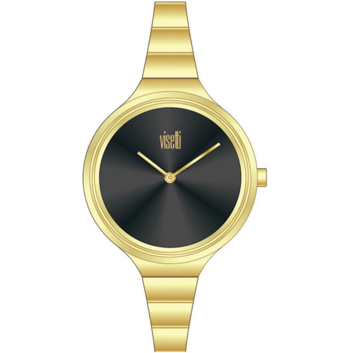VISETTI Bellini Gold Stainless Steel Bracelet ZE-496GB