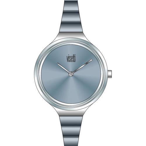 VISETTI Bellini Blue Stainless Steel Bracelet ZE-496SIC