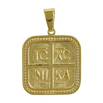 Κωνσταντινάτο Από Κίτρινο Χρυσό Κ14 KN231