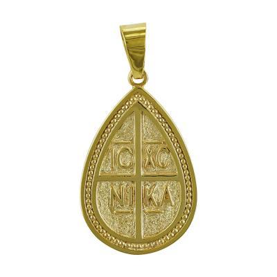 Κωνσταντινάτο Από Κίτρινο Χρυσό Κ14 KN232
