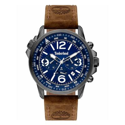 TIMBERLAND Campton II Brown Leather Strap 15129JSU-03