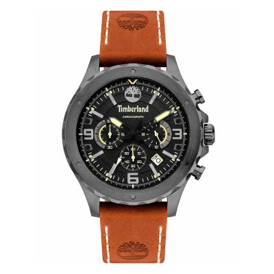 TIMBERLAND Greensboro Chronograph Brown Leather Strap 15634JSU-02