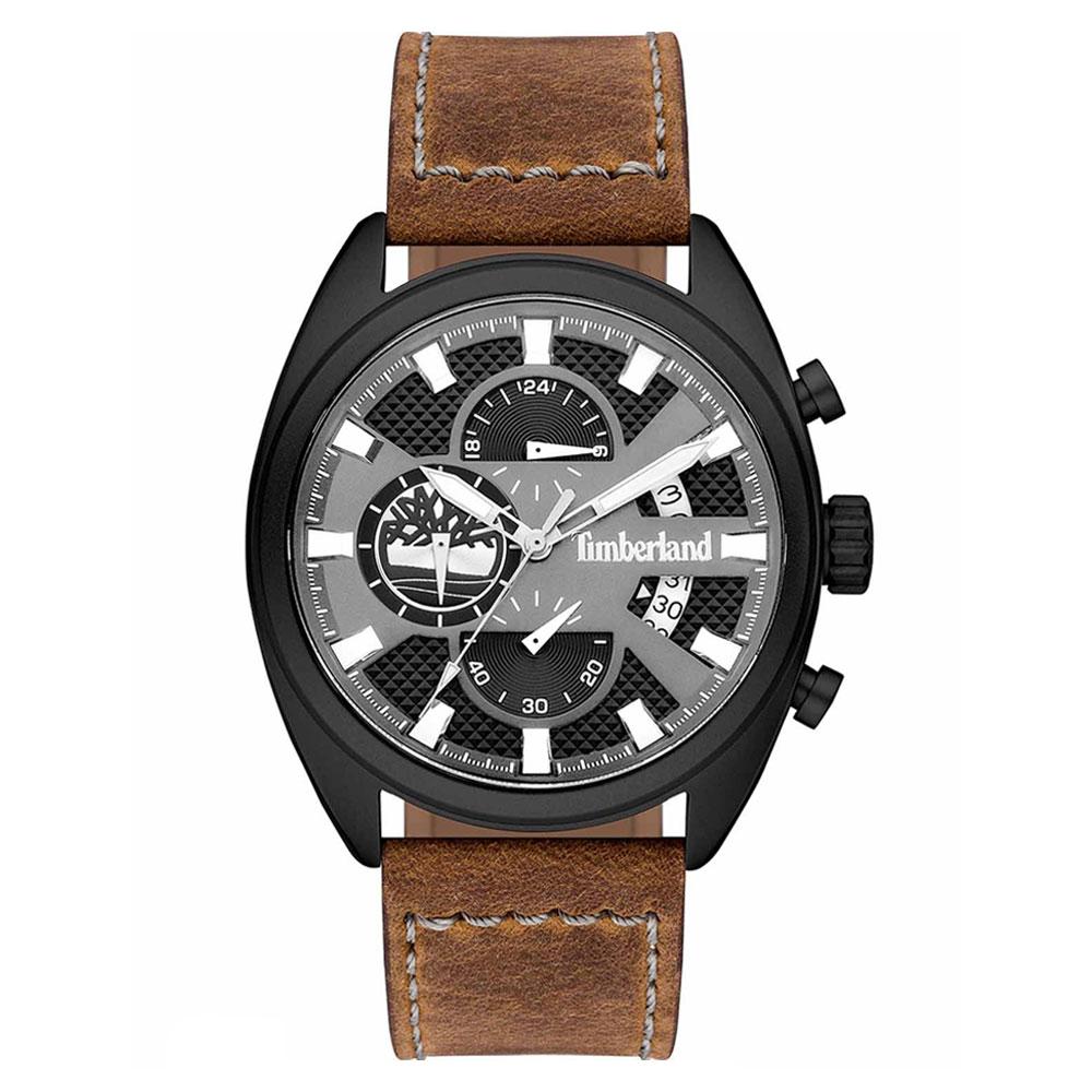 TIMBERLAND Seabrook Chronograph Brown Leather Strap 15640JLB-61