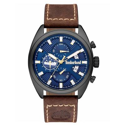 TIMBERLAND Seabrook Chronograph Brown Leather Strap 15640JLU-03