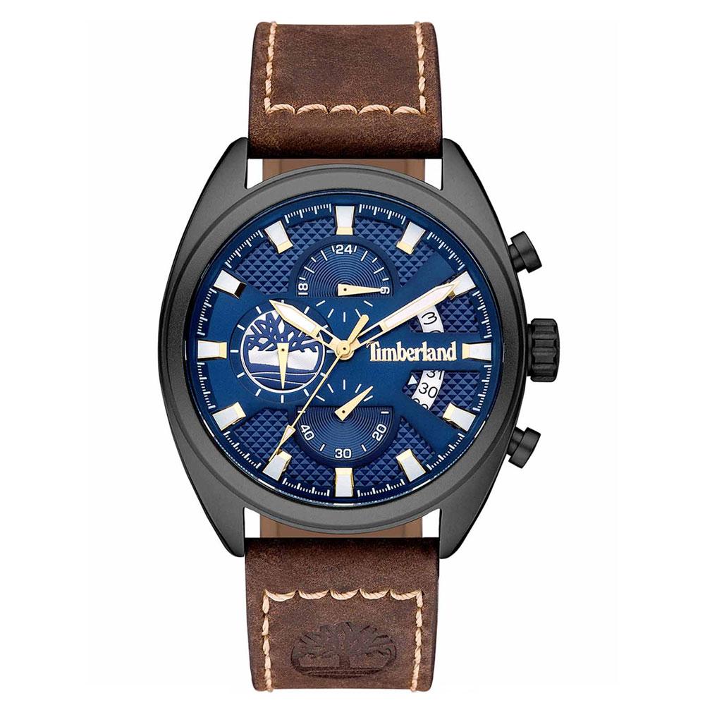 TIMBERLAND Seabrook Chronograph Brown Leather Strap 15640JLU-03