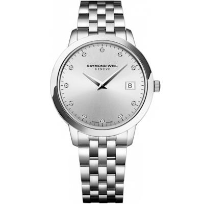 RAYMOND WEIL Geneve Toccata Stainless Steel Bracelet 5388-ST-65081