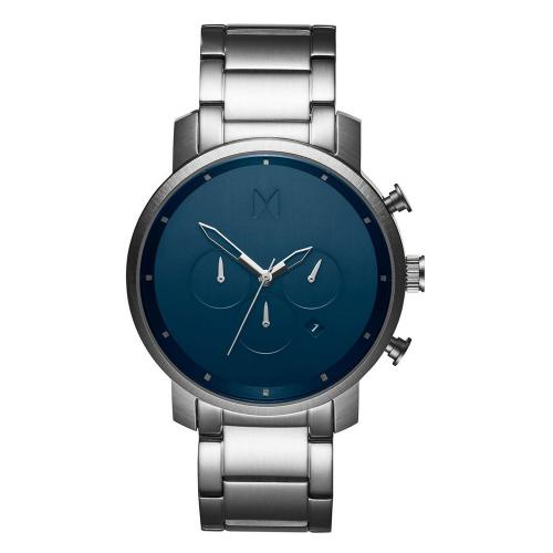 MVMT Chrono Midnight Stainless Steel Bracelet MC01-SBLU